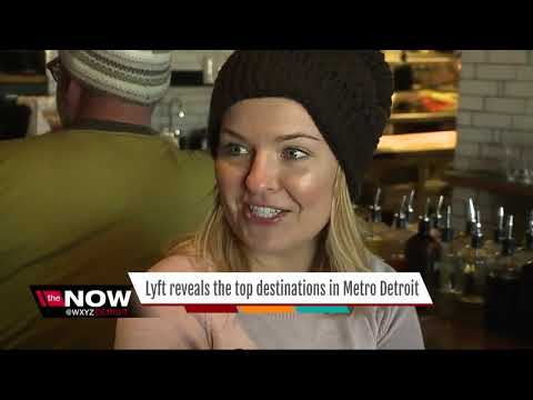 Lyft reveals the top destinations in metro Detroit