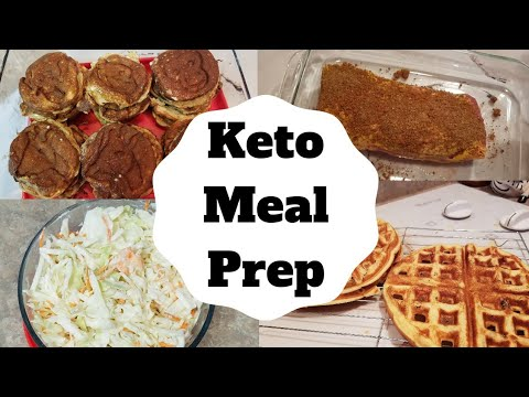 keto-weekly-batch-cooking-meal-prep-|-maple-chaffle,-coleslaw,-pork-loin,-and-mini-pancakes