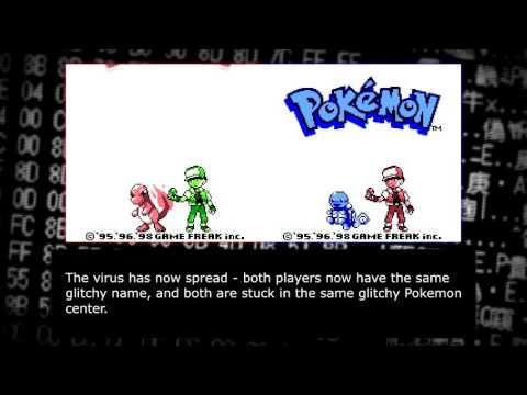 "Creating a ""virus"" for Pokemon Red and Blue (self replicating save file!!)"