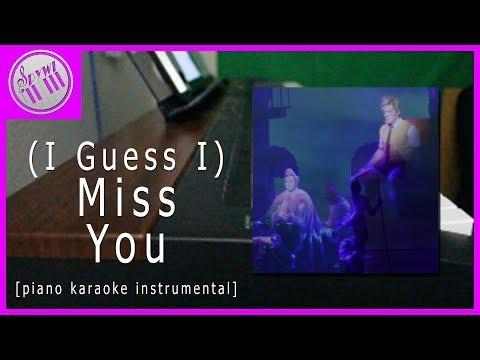 (I Guess I) Miss You - The SpongeBob SquarePants Musical || [Piano Karaoke Instrumental]