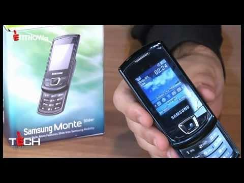 Samsung GT-E2550 Monte Slider