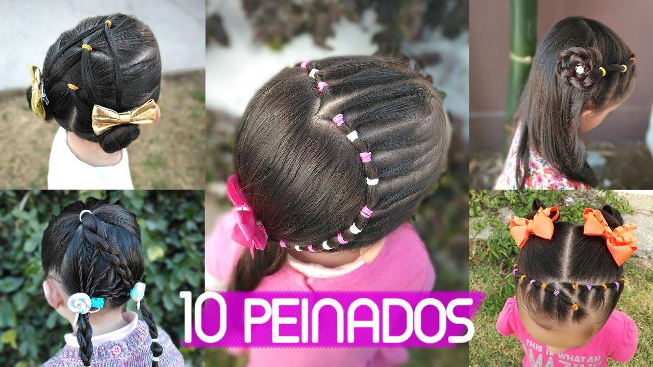 Peinados Faciles 2018 Peinados Para Ninas Youtube