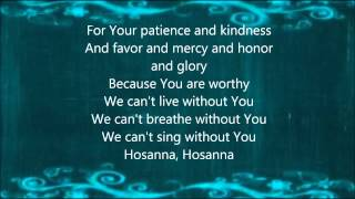 Kirk Franklin-Hosanna w/Lyrics