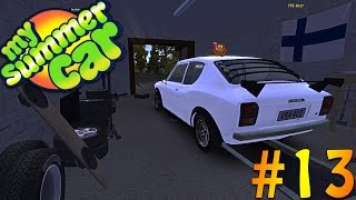 My Summer Car - Trying To Get A Ticket! [RACE CAR] #13