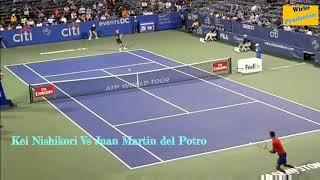 Citi open 2017 highlights Kei Nishikori vs Juan Martin del potro