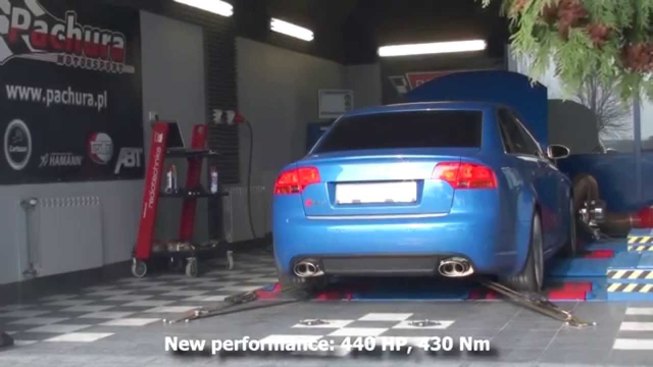 AUDI RS4 4 2FSI V8 STAGE 2 440HP TUNED BY PACHURA MOTO CENTER
