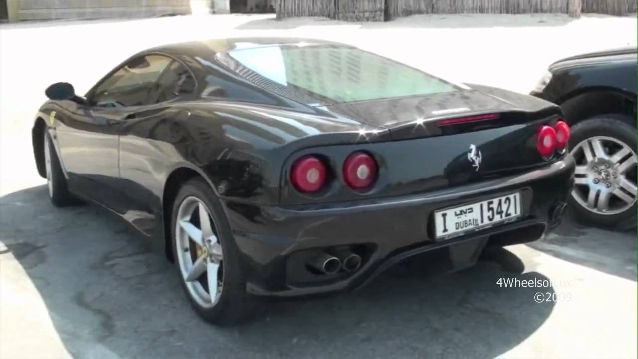 Black Ferrari 360 Modena Youtube