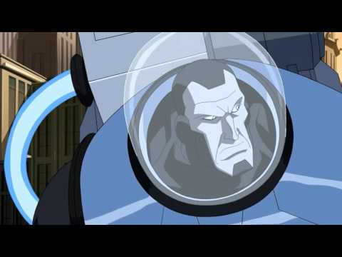 Batman and Robin vs Mr Freeze (Young justice) - YouTube