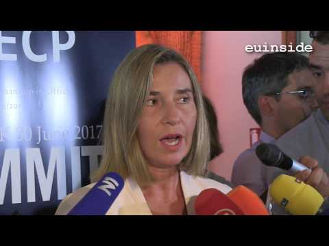 Federica Mogherini in Dubrovnik for the SEECP summit