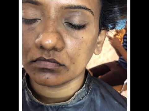 Makeup Transformation Of Sri Lankan Bride