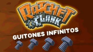 Guitones Infinitos Truco Ratchet & Clank 1 & Trilogy Ps2 / Ps3 Psvita Fuera Del Mapa