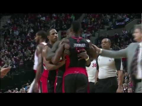 Amir Johnson vs. Referee