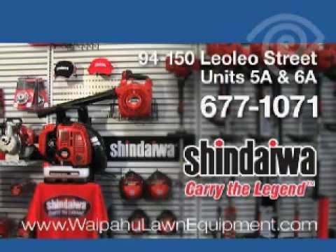 Shindaiwa Power Equipment   Buy It At Waipahu Lawn Equipment In Hawaii
