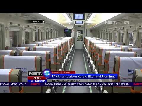 PT KAI Luncurkan Kereta Ekonomi Premium - NET5