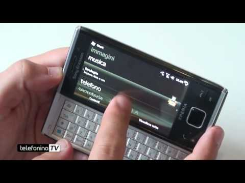 Sony Ericsson Xperia X2 videopreview Telefoninonet English Subtitles
