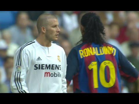 Download Ronaldinho & Beckham Masterclass In El Clasico 2004