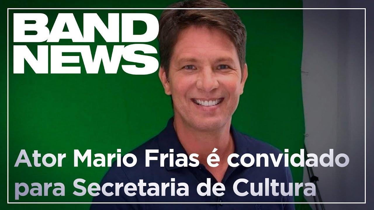 Notícias - Ator Mario Frias é convidado para a Secretaria de Cultura - online