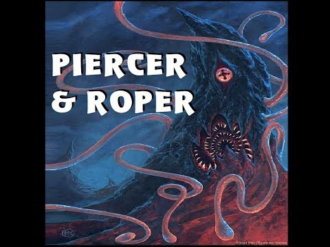 Dungeons and Dragons Lore: Piercer and Roper