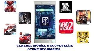 Generel Mobile Discovery Elite Oyun Performansı