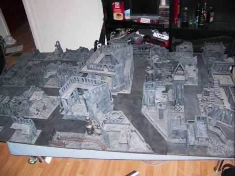 my warhammer 40k table youtube