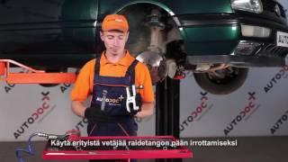Raidetangon Pää irrottaminen VW - video-opas