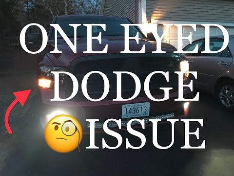 How To Install Repair Replace Headlight , Wiring, and Bulb Dodge Ram 09-17