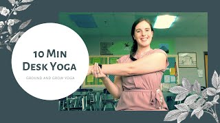 Office Yoga: 10 Min Desk Workout