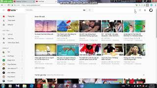 HUONG DANG VIDEO QUAY BANG BANDICAM LEN YOUTUBE (DANH CHO CAC BAN KO BIK)