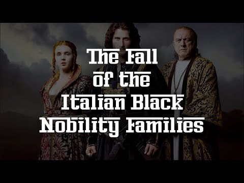 The Fall of the Italian Black Nobility Families 432Hz