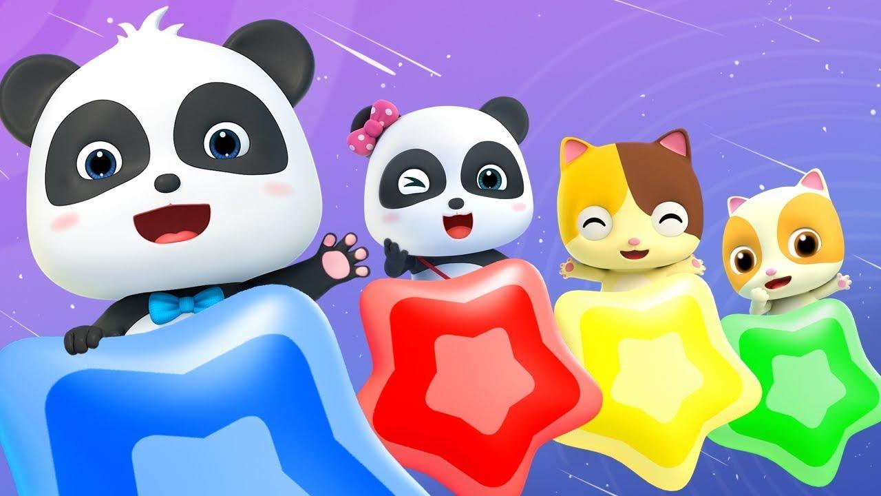 色のうた 色を学ぼう☆どんな色が好き? | 赤ちゃんが喜ぶ歌 | 子供の歌 | 童謡 | アニメ | 動画 | ベビーバス| BabyBus