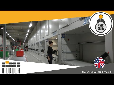 GeSe GmbH: Less Error And Faster Warehouse Picking Times With Modula Vertical Lifts [Germany]