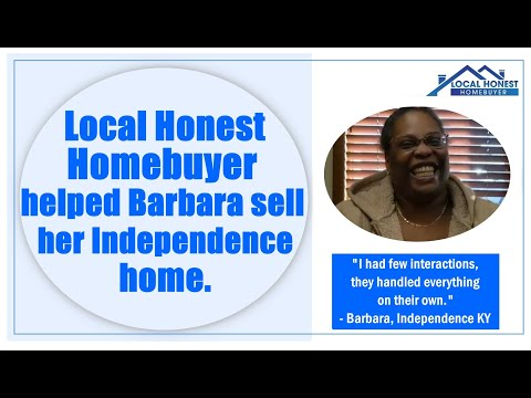 Local Honest Homebuyer helped Barbara sell her Independence home
