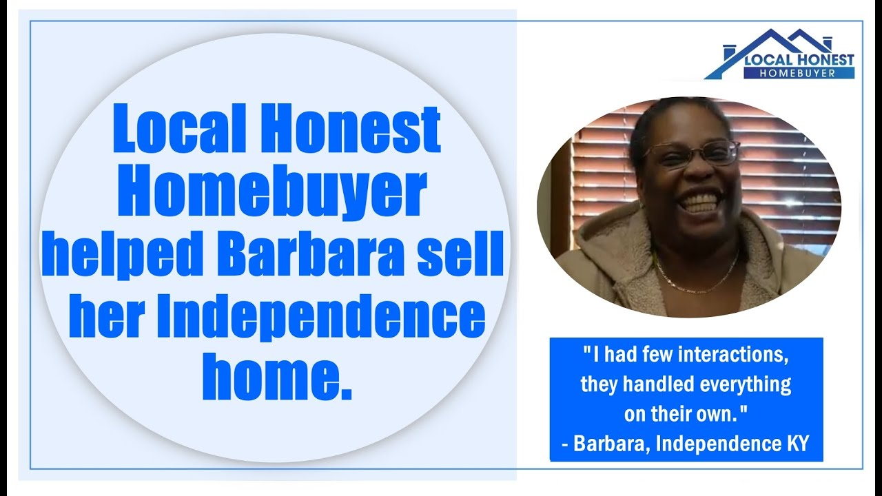 Local Honest Homebuyer bought Barbara'a Independence house fast for cash