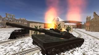 WW2 Army Train Driving War Shooting Train Games screenshot 4