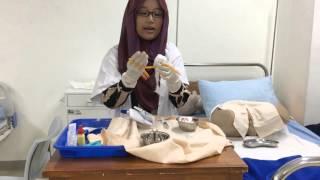Pemasangan Kateter Urin oleh Eka Tlaga Herawati Praktikum 3 Kelas D