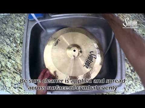 How to clean your Soultone Cymbals