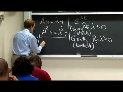 Lec 5 | MIT 18.085 Computational Science and Engineering I, Fall 2008