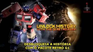 Transformers: Fall of Cybertron - Trailer Legendado - G1 Optimus Prime