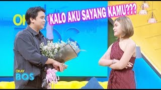 Wow, Amanda Manopo Bilang SAYANG ke Billy!! | OKAY BOS (17/06/20) Part 1