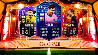 THIS IS WHAT I GOT IN 25x 85+ x5 UPGRADE PACKS! #FIFA21 ULTIMATE TEAM