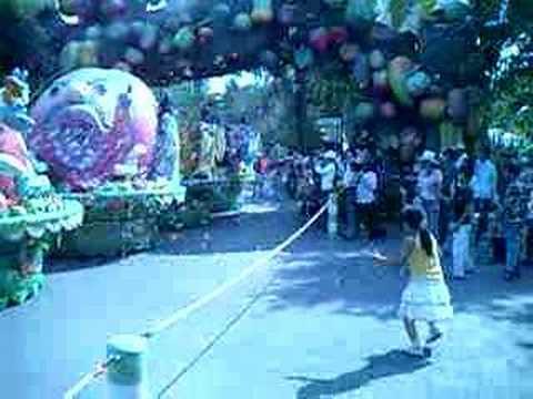 Fruit festival at Suoi Tien Park