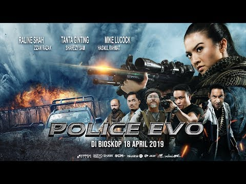 Official Trailer POLICE EVO (2019) - Raline Shah, Tanta Ginting, Mike Lucock