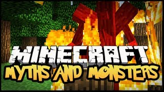 ► Minecraft 1.5.1 Mody - MYTHS AND MONSTERS ! (FANTASTYCZNE MOBY I POTWORY)
