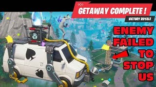 The Getaway RETURNS | Fortnite Season 8 | Leland VICTORY!