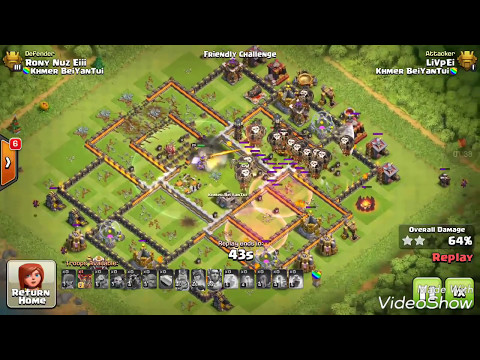 Friendly Challenge Impossible 3 Star Th11 Attack, What Do You Think With That Guy?