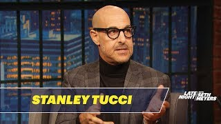 Stanley Tucci Was Completely Shocked by SNL's Tucci Gang Sketch