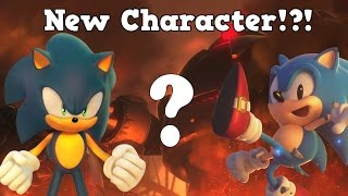 project sonic 2017 generations style gameplay confirmed new character