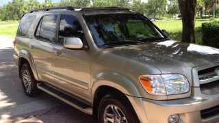 2005 Toyota Sequoia - View our current inventory at FortMyersWA.com