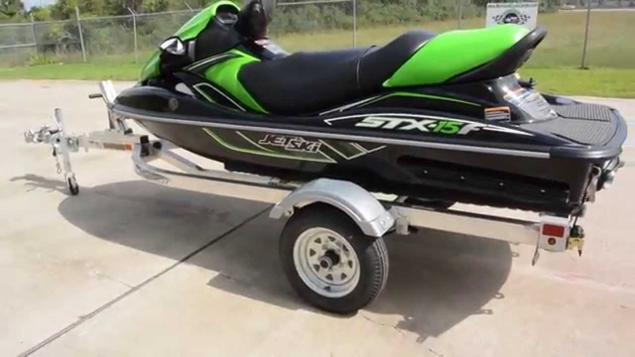 $9,699: 2015 Kawasaki STX 15F JetSki Overview and Review - YouTube