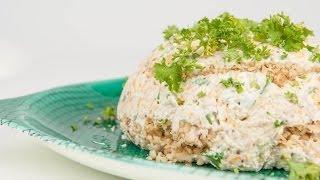 Kris Kitchen - Smoked Salmon Cheese Ball